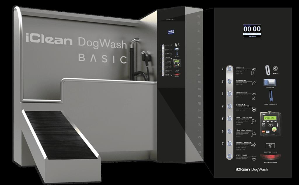 iclean basic maquina autolavado perros